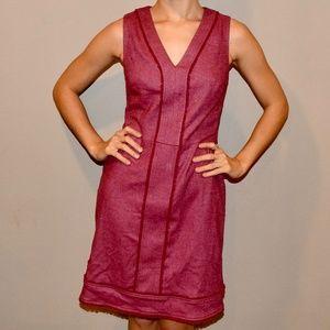 Raspberry work dress
